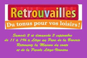 """Retrouvez la Maison du Conte de Liège à """"Retrouvailles"""""""